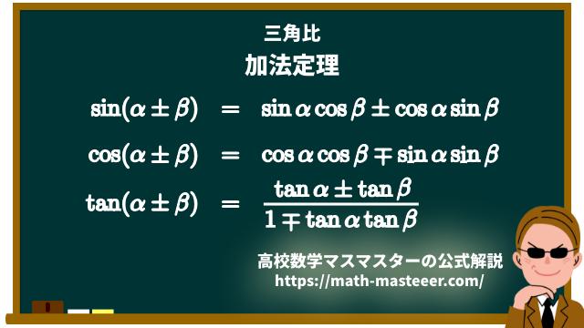 三角関数の加法定理